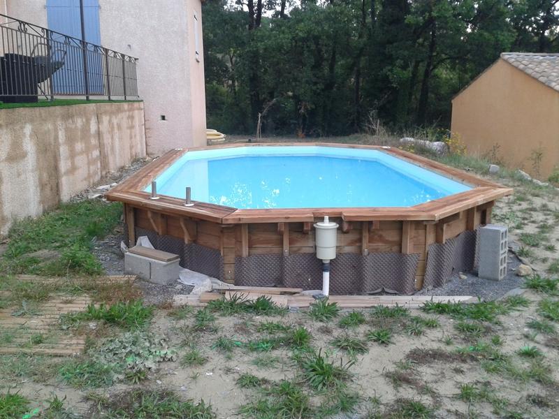 Terrasse Avec Piscine Hors Sol. Cheap Villa T St Bauzille De Putois